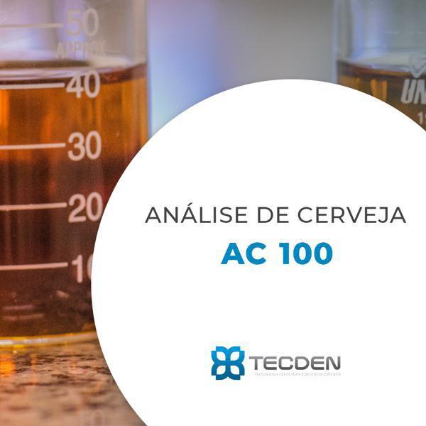 Análise de Cerveja - AC 100