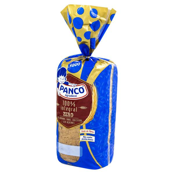 Pão Integral Zero Açúcar Panco Pacote 380g