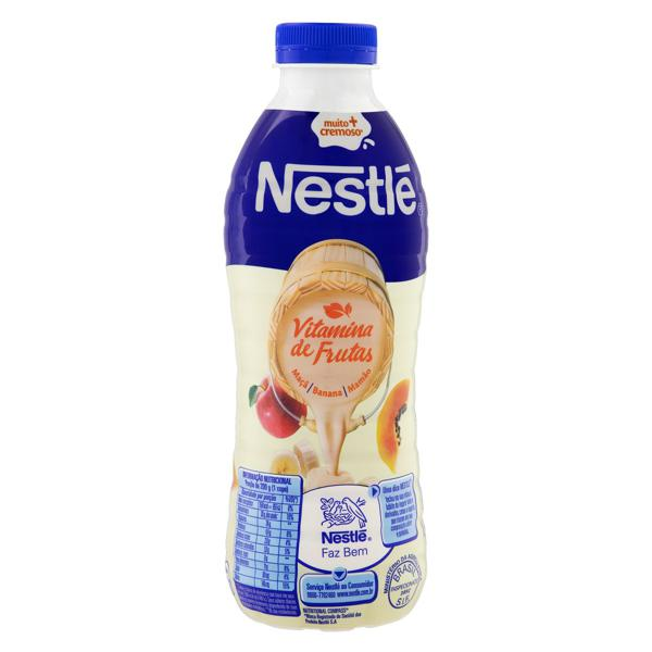 Iogurte Parcialmente Desnatado Vitamina de Frutas Nestlé Garrafa 900g