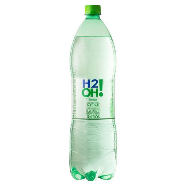 Refrigerante Limão Zero Açúcar H2OH! Garrafa 1,5l