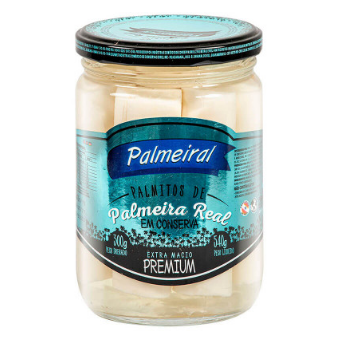 Palmito Palmeiral 300g Premium Inteiro