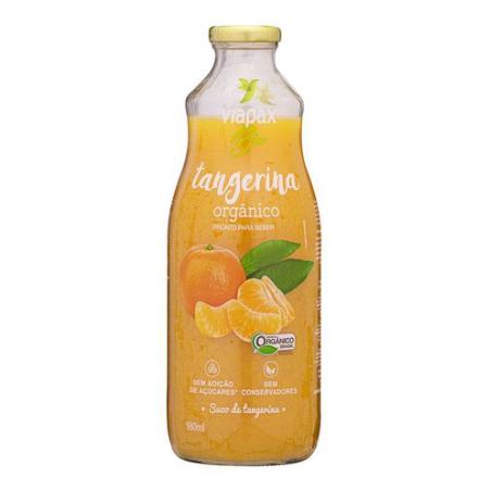 Suco de Tangerina Orgânico 980ml - Viapax