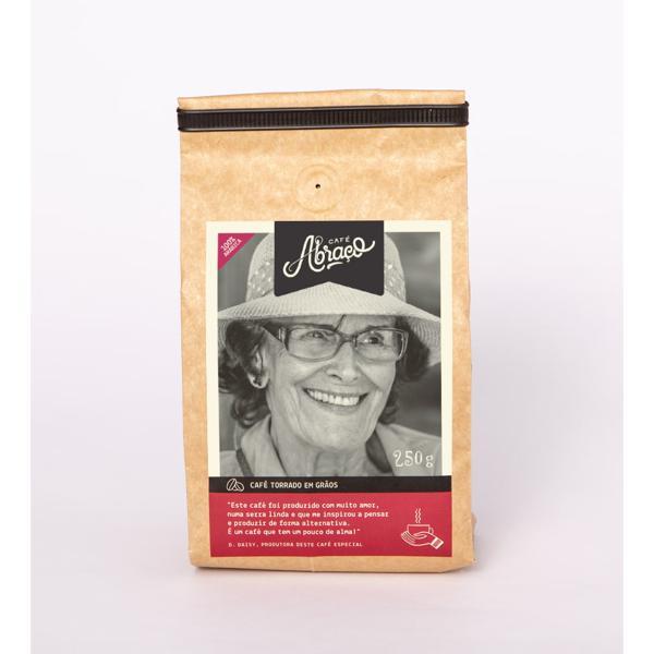 Café produtora D. Daisy, Torrado em Grãos 250g - Café Abraço