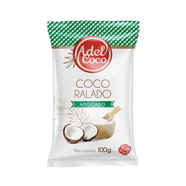 Coco Ralado Adoçado ADELCOCO 100g