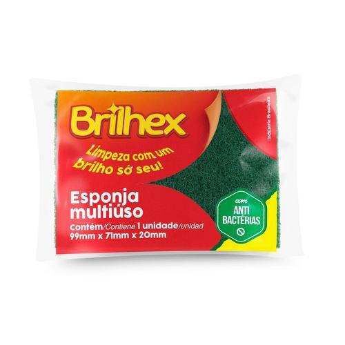 Esponja Brilhex Multiuso 1X1
