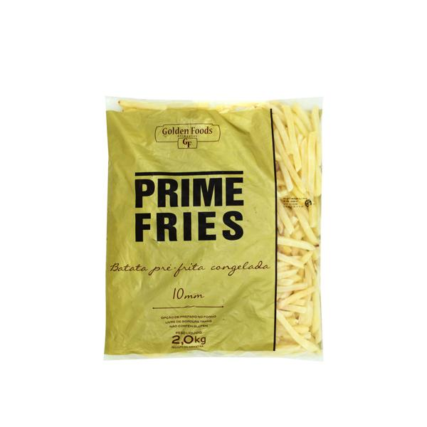 Batata Palito Golden Foods Prime Fries Congelada 2Kg Pacote