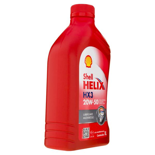 Lubrificante Shell Helix HX3 20W-50 1l