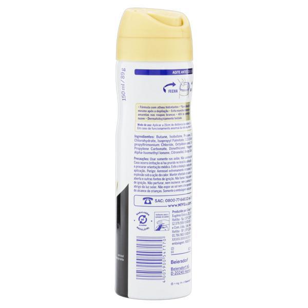 Antitranspirante Aerossol Nivea Invisible for Black & White 150ml