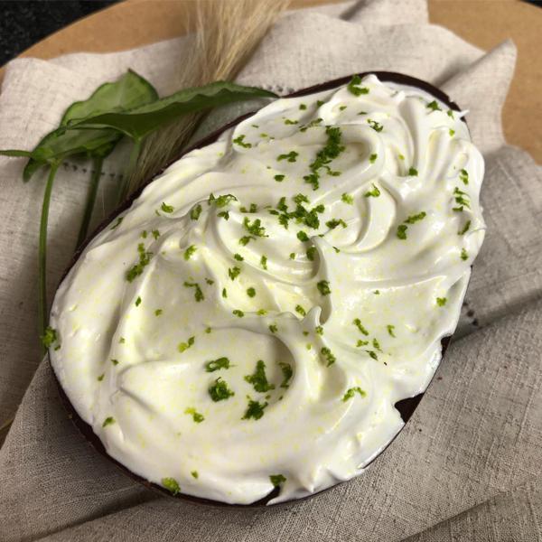 Ovo de colher torta de limão 500g - SalMach