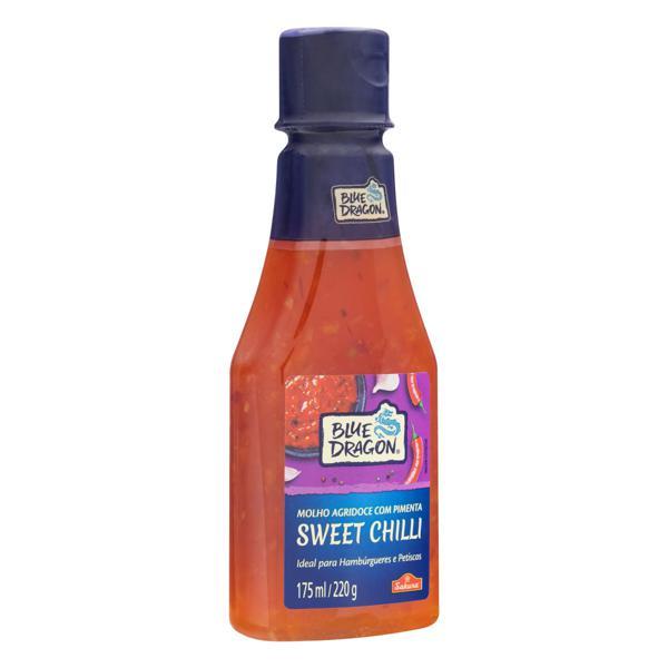Molho Agridoce com Pimenta Sweet Chilli Blue Dragon Squeeze 220g