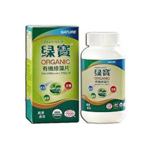 Chlorella Orgânico 150g (600 Unidades) - GREEN GEM