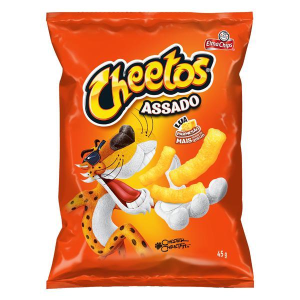 Salgadinho de Milho Lua Parmesão Elma Chips Cheetos Pacote 45g