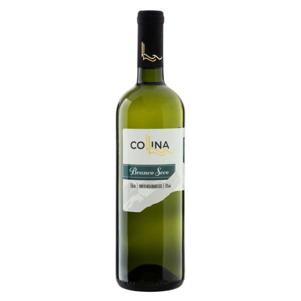 Vinho Brasileiro Branco Seco Collina Del Sole Garrafa 750ml