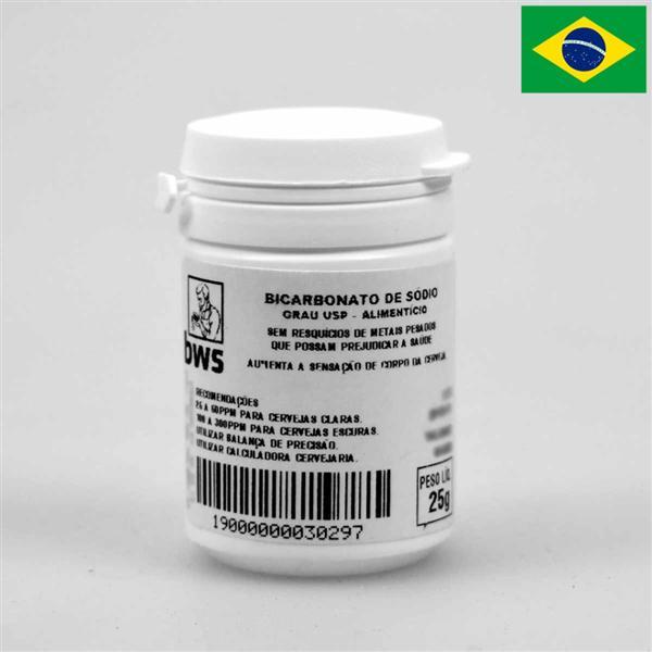 Bicarbonato de Sódio U.S.P. 25g