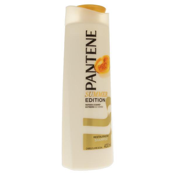 Shampoo Pantene Restauração Frasco 400ml Summer Edition