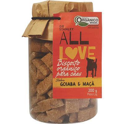 Biscoito Orgânico para Cães Goiaba & Maçã 200g - Dr. Stanley