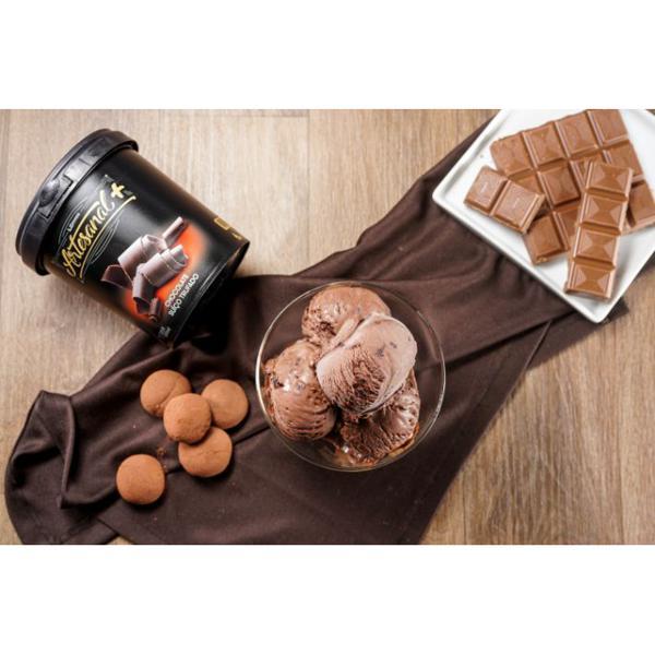 Artesanal+ 500ml sabor Chocolate Suíço Trufado