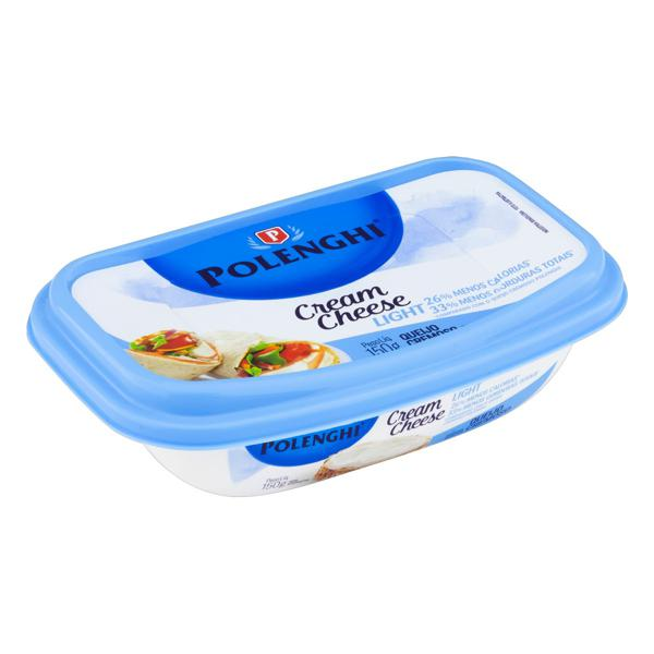 Queijo Cream Cheese Light Polenghi Pote 150g