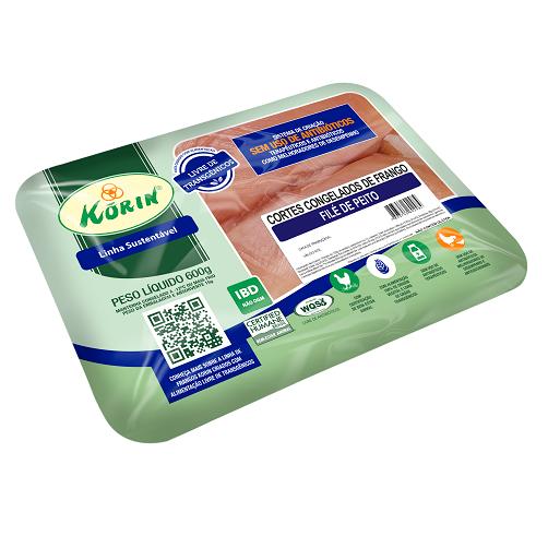 Filé de Peito Linha Sustentável Korin 600g