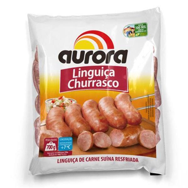 Linguiça Churrasco AURORA Congelada 700g