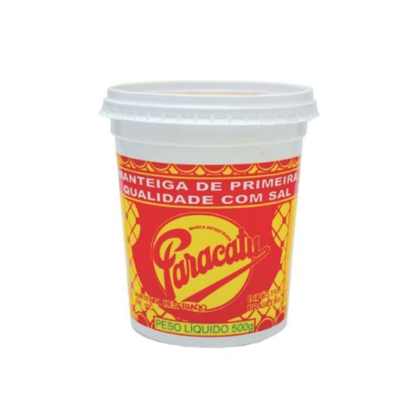 Manteiga PARACATU com Sal 500g
