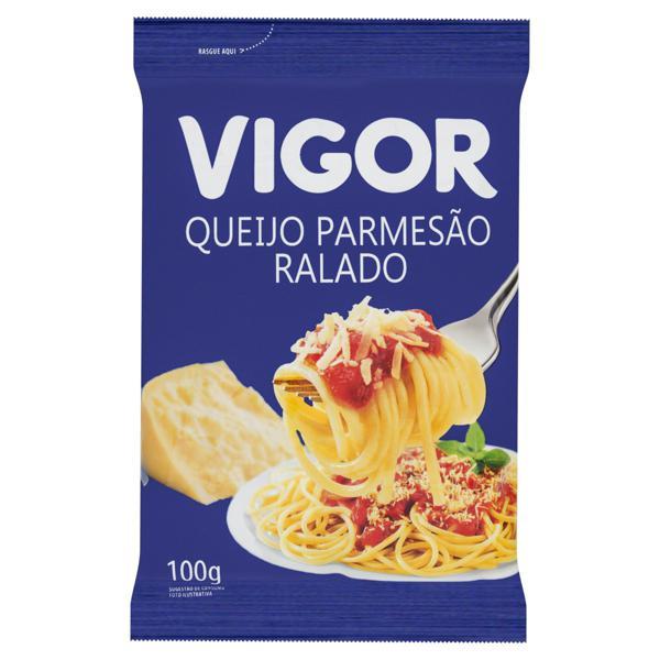 Queijo Parmesão Ralado Vigor Pacote 100g