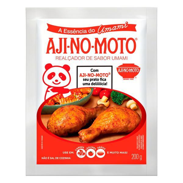 Realçador de Sabor Umami Aji-No-Moto Pacote 200g