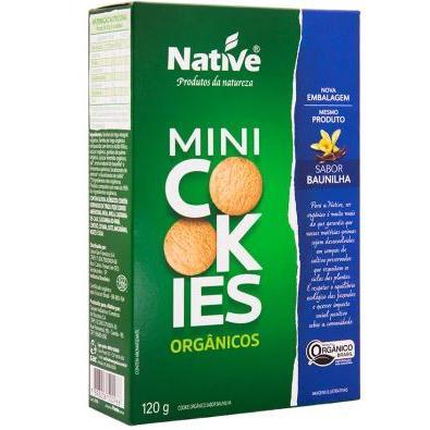 Cookies Native Baunilha Organico 120G