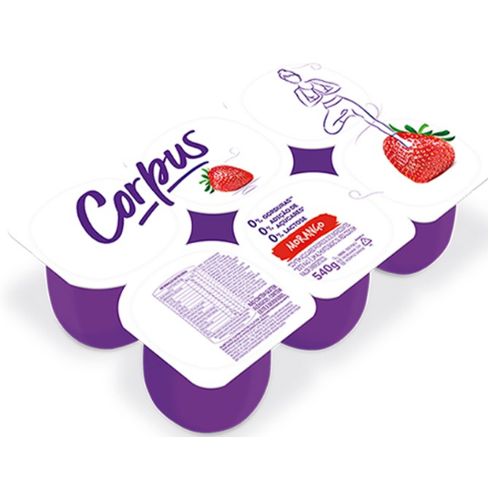 Iogurte Danone 540g Corpus Morango