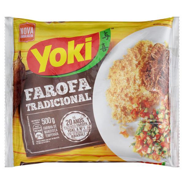 Farofa de Mandioca Tradicional Yoki Pacote 500g