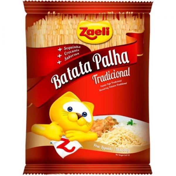 Batata Palha Zaelli 80G Tradicional