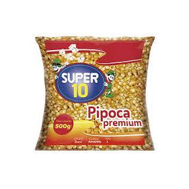 Milho Pipoca Premium SUPER 10 500g