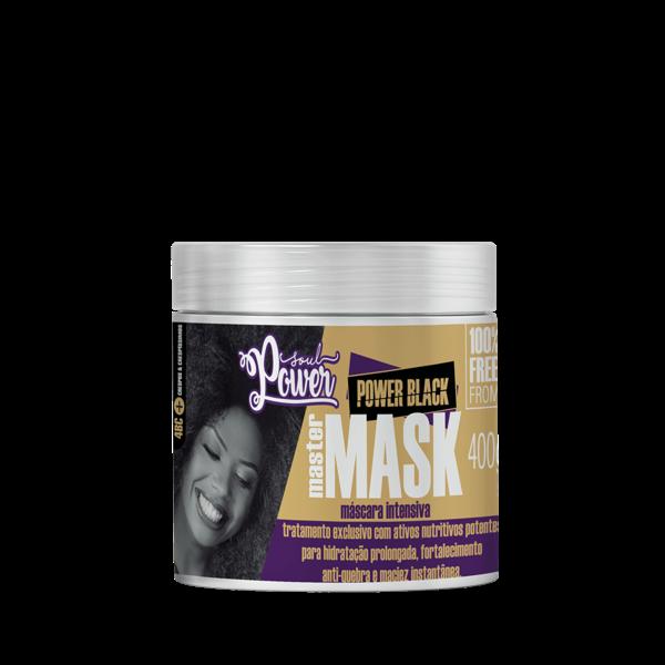 Mascara capilar 400gr Soul Power Master