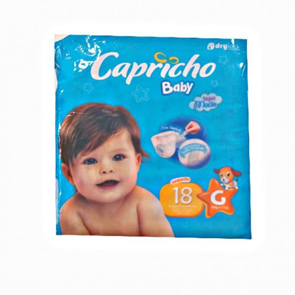 Fralda Descartável Capricho 18X1 Economica G