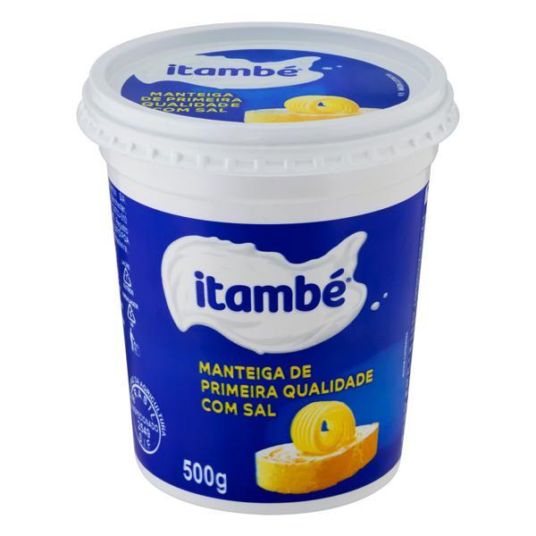 Manteiga de Primeira Qualidade com Sal Itambé Pote 500g