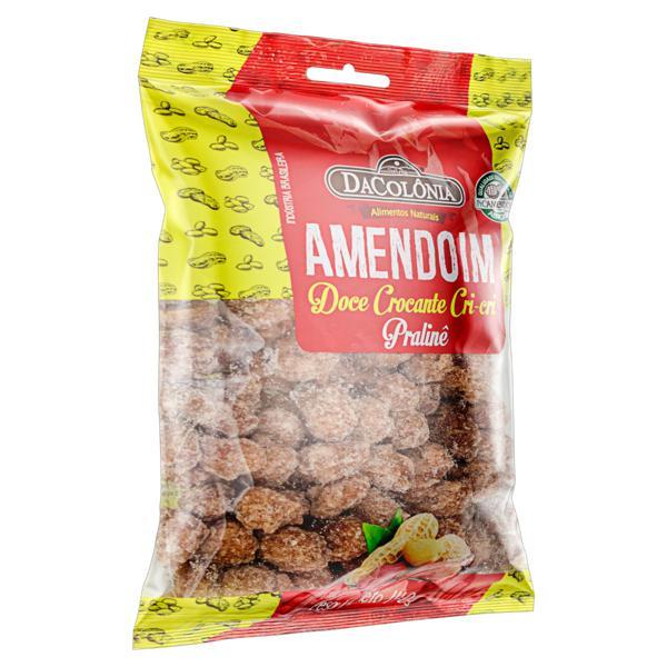Amendoim Cri-Cri Pralinê DaColônia Pacote 140g