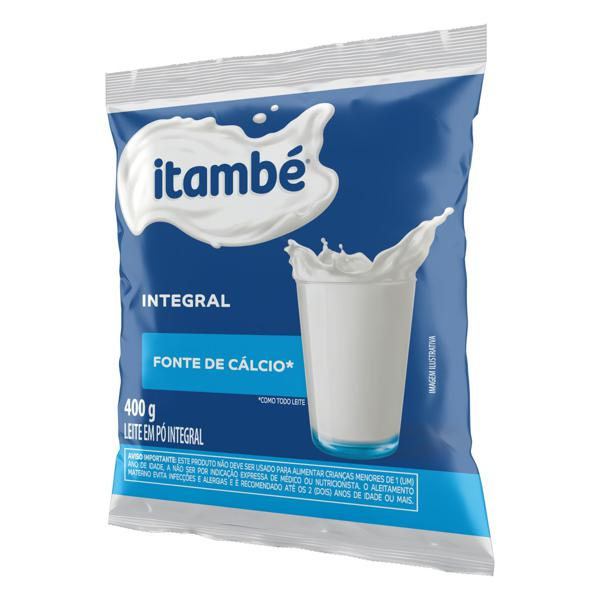Leite em Pó Integral Itambé Pacote 400g