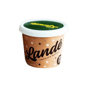 Sorvete Lande Chocolate Rustico S/Gluten 0 Lactose 150Ml