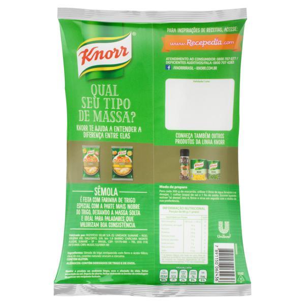 Macarrão de Sêmola Ninho Knorr 500g