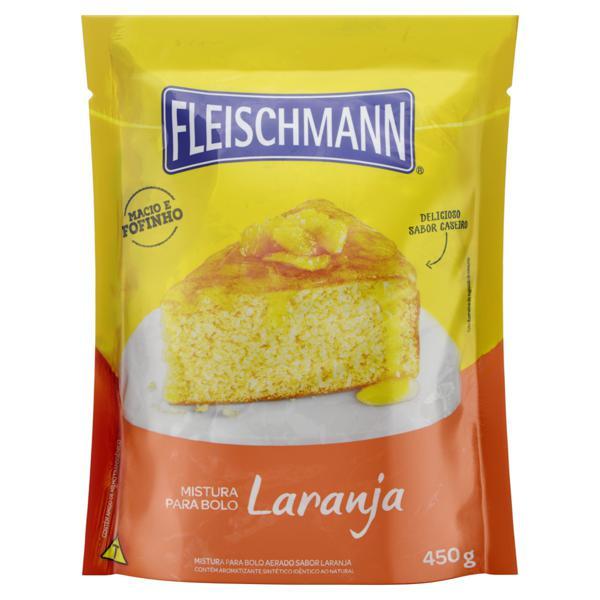 Mistura para Bolo Laranja Fleischmann Sachê 450g