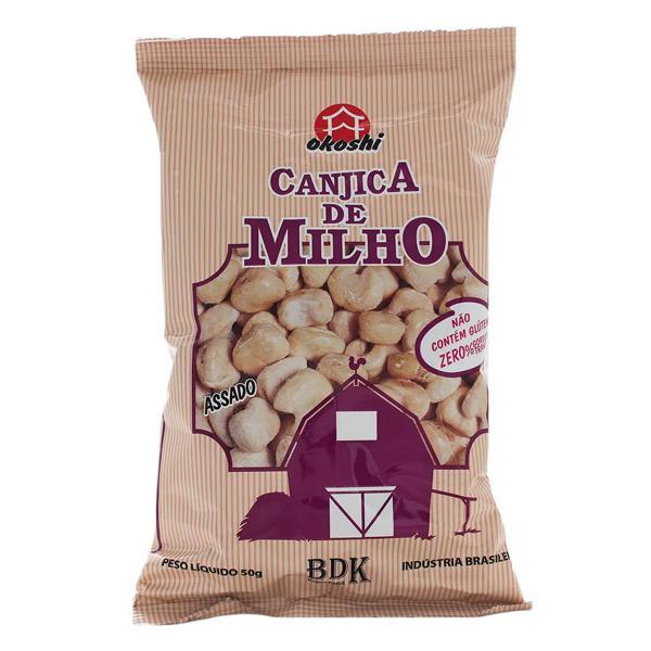 Canjica de Milho com Açúcar Orgânico  Okoshi 50g