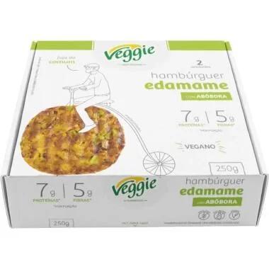 Hambúrguer Edamame VEGGIE 250g