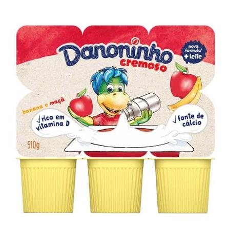 Iogurte Danoninho 510g Vitamina