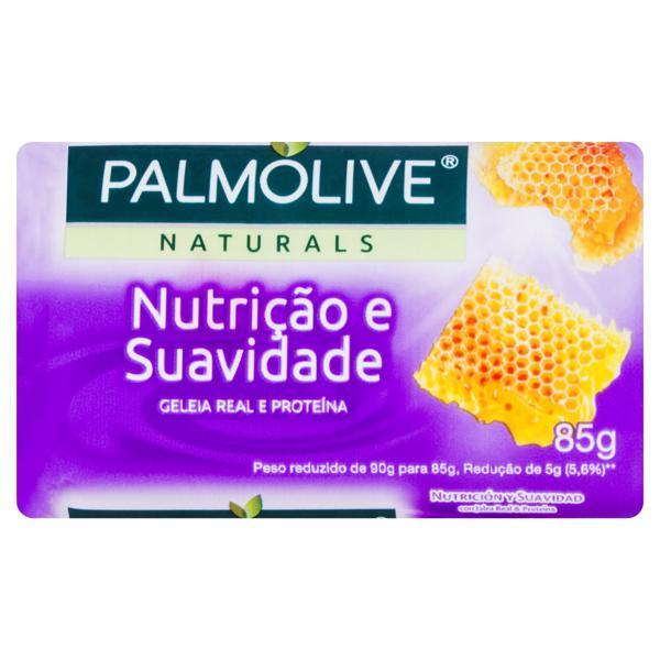 Sabonete em Barra Nutrição e Suavidade Palmolive Naturals Cartucho 85g