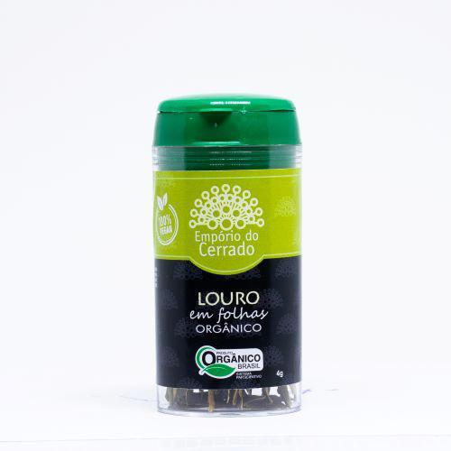Louro em Folhas Orgânico - 4g