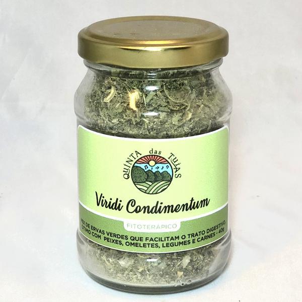 Tempero Funcional Viridi Condimentum- Para Trato Digestório (Ervas) 40g