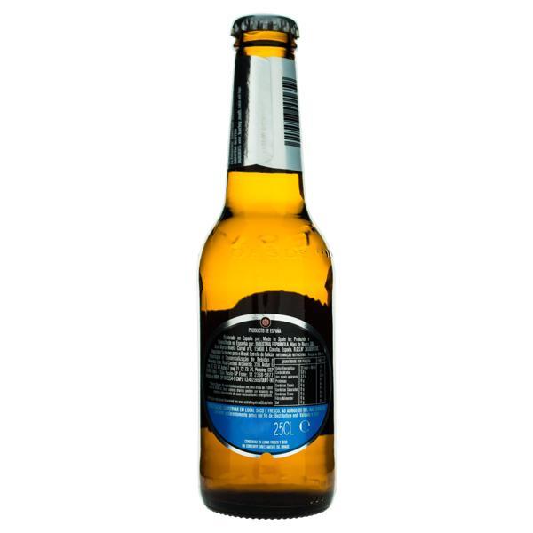 Cerveja Pilsen Zero Álcool Estrella Galicia Garrafa 250ml
