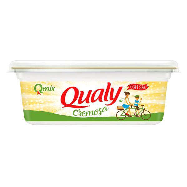 Margarina Cremosa com Sal Qualy Qmix Pote 250g