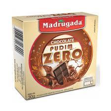 Pudim Madrugada 30G Zero Choco