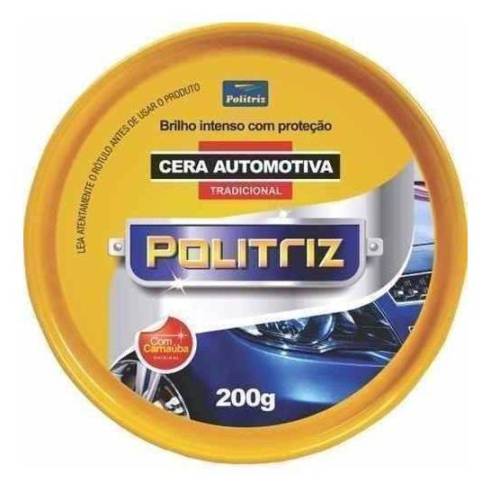 Cera Automotiva POLITRIZ  Lata 200g
